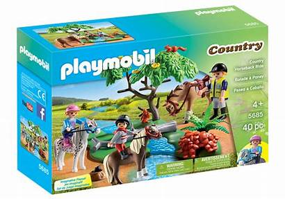 Playmobil Country Ride Horse Horseback Farm Box