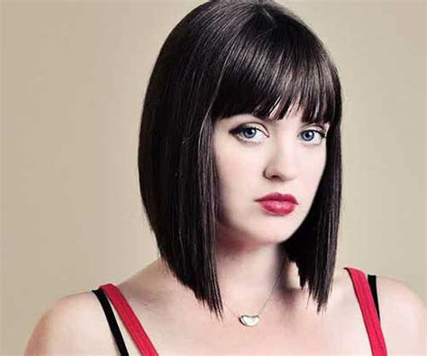 Bob Hairstyles With Bangs by 20 Angled Bobs With Bangs Bob Hairstyles 2018
