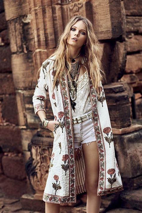 Boho Look | Bohemian hippie chic bohu00e8me vibe gypsy fashion indie folk the 70s festival style ...