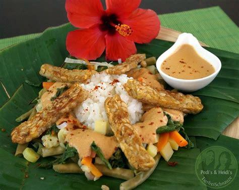 Indonesische Kuche by Indonesisch Gado Gado Gem 252 Se Mit Erdnussso 223 E Rezepte