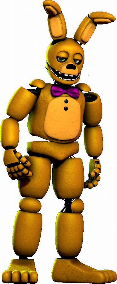 Fnaf Springbonnie Sfm Picsart Freddy Nights Five
