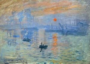 Impression Soleil Levant De Claude Monet Un Tableau