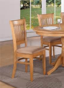oak kitchen furniture set of 4 kitchen dining chairs with microfiber cushion seat in oak finished