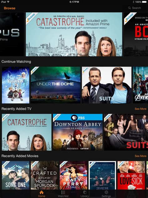 amazon video app  lets     prime
