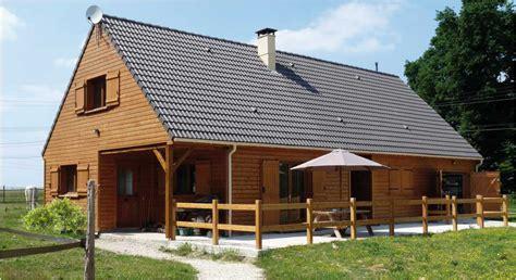 principe de construction de la maison 224 ossature bois