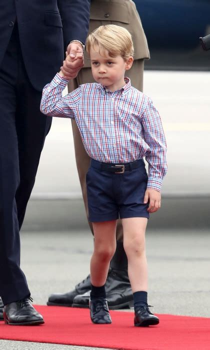 georges méliès style prince george debuts new look ahead of fourth birthday