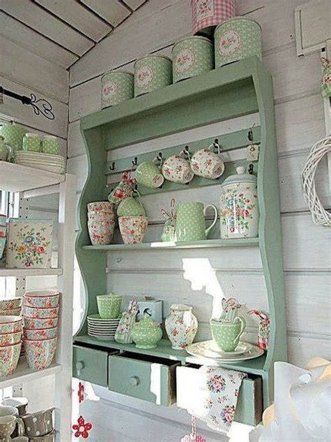Shabby Chic Kitchen Shelf Pictures, Photos, And Images For