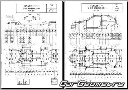 old cars and repair manuals free 1996 honda accord on board diagnostic system контрольные размеры кузова honda civic 1996 2000 sedan coupe hatchback body repair manual