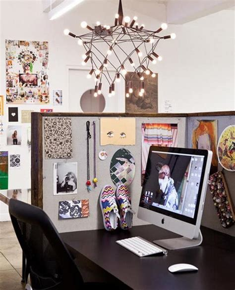 Cubicle Decoration Ideas In Office by 20 Creative Diy Cubicle Decorating Ideas Hative