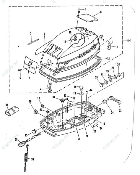 Mercury Mariner Outboard Parts Liter