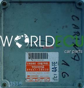 Ecu Engine Controller Toyota Corolla 1 6 Ect 4a