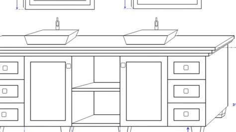 double sink bathroom vanity dimensions ideas youtube