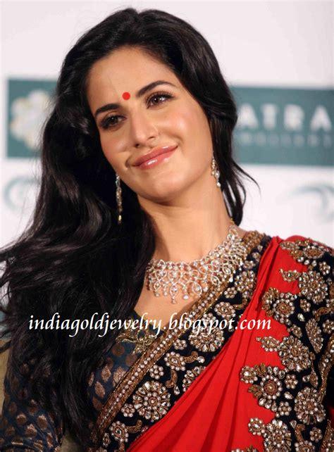 indian gold  diamond jewellery katrina kaif  bridal