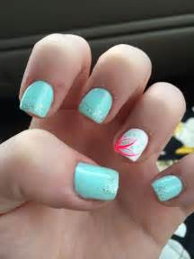 Cute summer acrylic nails designs images