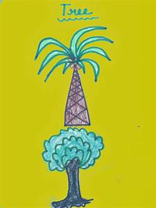 Tree Drawing For Kids |Virtual kidspace