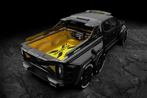 It's best to subscribe to ours feed and will automatically be informed as soon as. Mercedes-Benz X-Class EXY Monster X 6X6 Concept | HiConsumption
