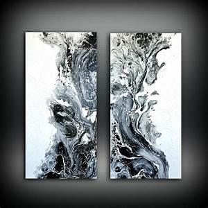 Abstract art original painting acrylic