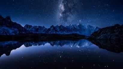 Stars 5k Mountains Lake Space 4k Wallpapers