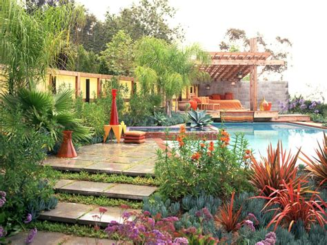 Pictures Of Mediterraneanstyle Gardens And Landscapes Diy