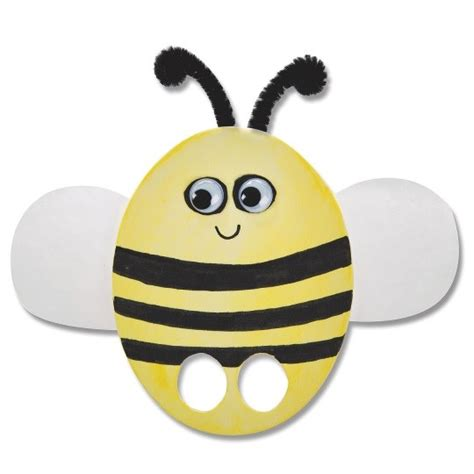 Bee Finger Puppet Template by Animal Finger Puppets Easy Craft For S S