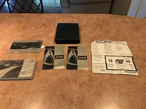 2002 Acura Tl Type S Owners Manual With Window Sticker And