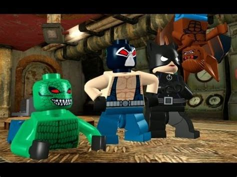 lego batman  guide villains episode   rockin