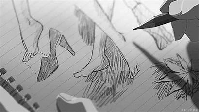 Anime Draw Kotonoha Garden Niwa Gifs Words