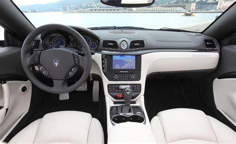 maserati grancabrio interior maserati granturismo convertible price modifications