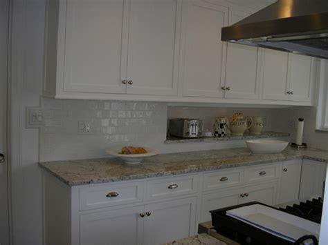 handmade subway tile kitchen backsplash traditional