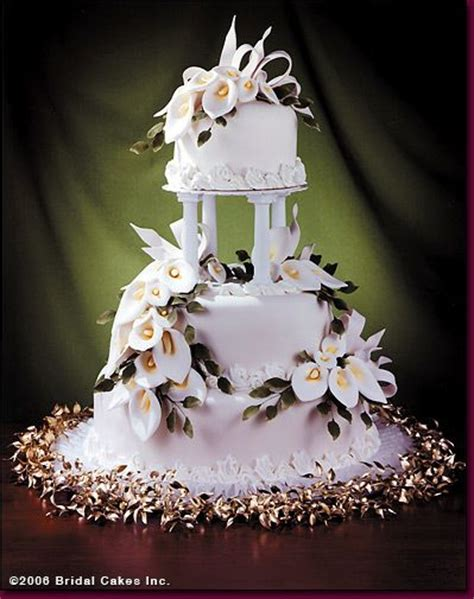 images  calla lily wedding cakes  pinterest