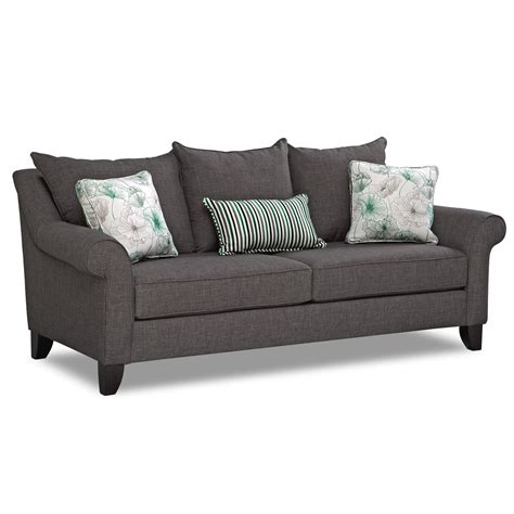 nolana charcoal sleeper sofa 100 nolana charcoal sleeper sofa furniture