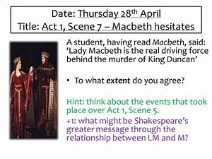 Macbeth Act 1 S... Macbeth Scene Quotes