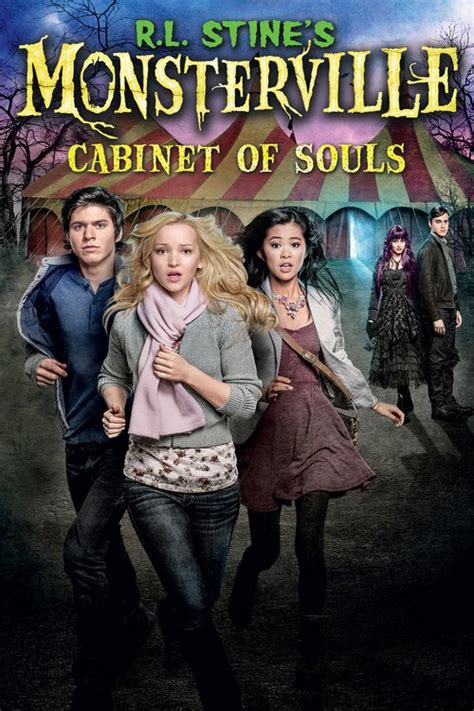 monsterville the cabinet of souls r l stine 39 s monsterville the cabinet of souls 2015