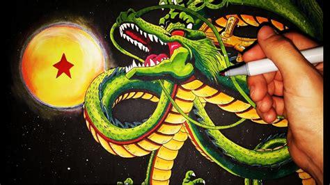 como dibujar  shenlong paso  paso dragon ball