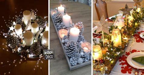 magnifiques centres table pour noel  idees pour vous