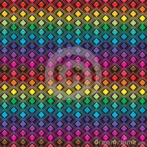 diamond shape  pattern symmetry colorful seamless