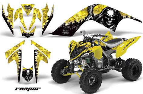 kit deco raptor 700 yamaha raptor 700 atv graphic kit fits yamaha raptor