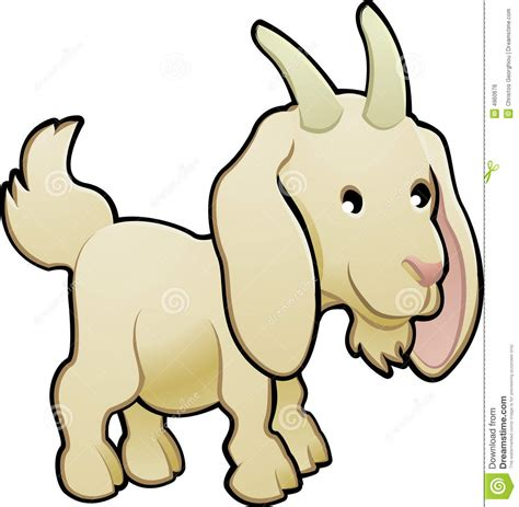 baby goat cartoon