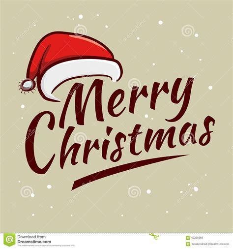 merry christmas greetings typography art stock vector image 62220369