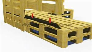 Fabriquer Un Canapé En Palette : fabriquer un canap convertible en palette maison et mobilier d 39 int rieur ~ Voncanada.com Idées de Décoration