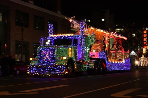 christmas semi truck images