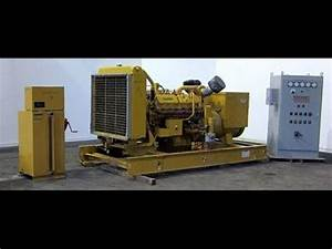 Used- Cat 500 Kw Standby Diesel Generator Set