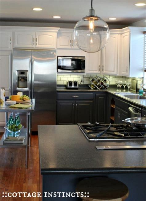 farmhouse 2 tone kitchen cabinets two tone kitchen cabinets to inspire your next redesign