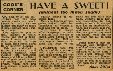 wartime kitchen  british restaurants day