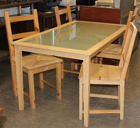 table de cuisine en verre ikea meubles usagés pour étudiants la cohuela cohue