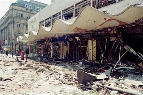 Unseen photos show the devastation caused by the IRA's ...