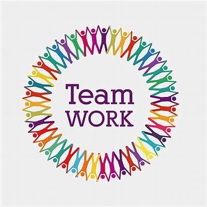 Teamwork Workplace Teams Takes Together Working Safe