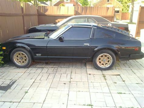 1981 Datsun 280zx Parts by Purchase Used 1981 Datsun 280zx Turbo With Parts In
