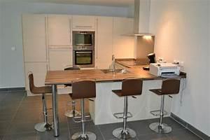 Table Plan De Travail Cuisine : table cuisine hauteur plan de travail ~ Melissatoandfro.com Idées de Décoration