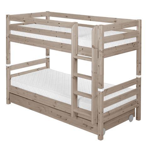 lit superposé avec lit superposé avec tiroirs flexa lits literie et